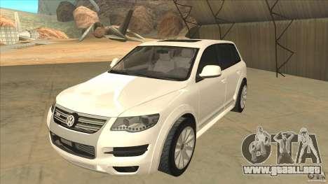 Volkswagen Touareg R50 para GTA San Andreas