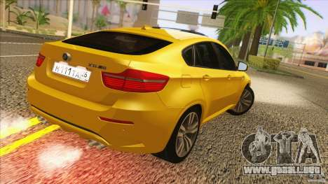 BMW X6M E71 v2 para GTA San Andreas left