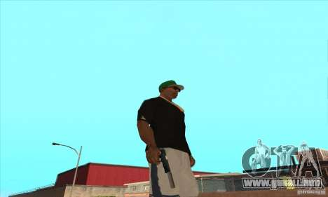WEAPON BY SWORD para GTA San Andreas sexta pantalla