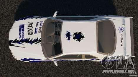 Nissan Skyline R-34 Atomic para GTA 4 visión correcta