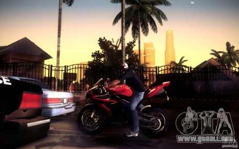 Yamaha YZF R1 para vista inferior GTA San Andreas