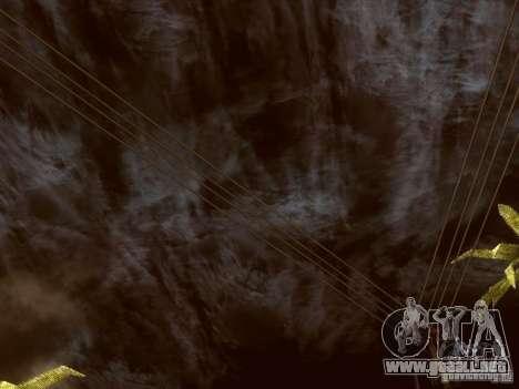 Atomic Bomb para GTA San Andreas quinta pantalla