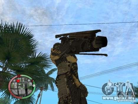 Armas exóticas de Crysis 2 v2 para GTA San Andreas