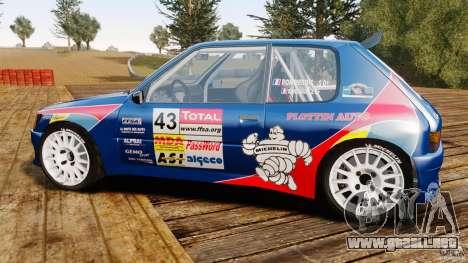 Peugeot 205 Maxi para GTA 4 left