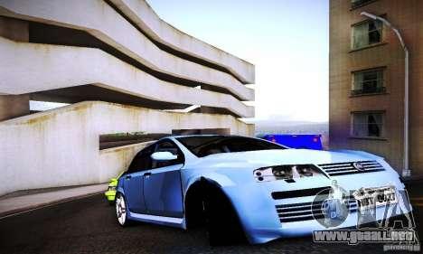 Fiat Stilo Abarth 2005 para la visión correcta GTA San Andreas