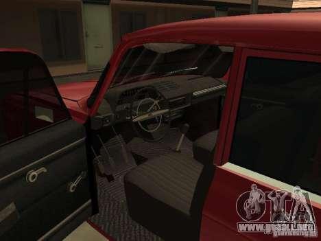 AZLK 412 IE para visión interna GTA San Andreas