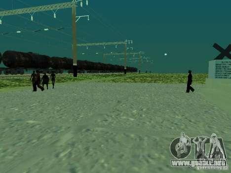 Soporte de red de contactos v. 2 para GTA San Andreas segunda pantalla