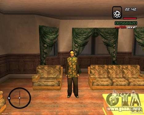 Change Skin para GTA San Andreas segunda pantalla