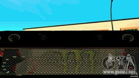 Elegía por fen1x para GTA San Andreas vista hacia atrás