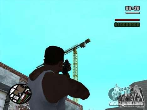 AK-74 (sin stock) para GTA San Andreas tercera pantalla