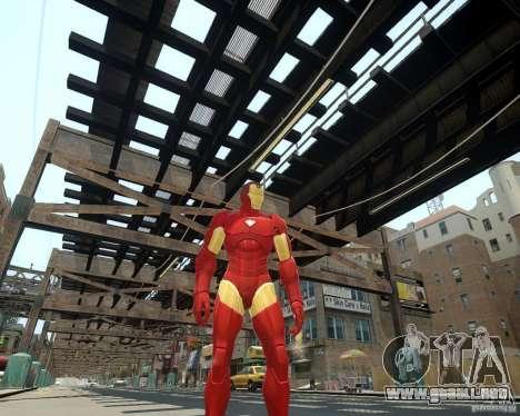 Iron Man Mk3 Suit para GTA 4 adelante de pantalla