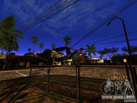 Amazing Screenshot v1.1 para GTA San Andreas sucesivamente de pantalla