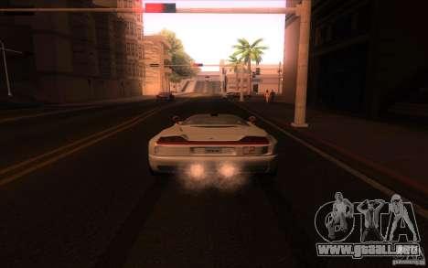 BMW Italdesign Nazca C2 1993 para GTA San Andreas vista posterior izquierda
