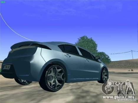 Opel Ampera 2012 para GTA San Andreas left