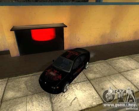 Vauxhall Monaro para visión interna GTA San Andreas