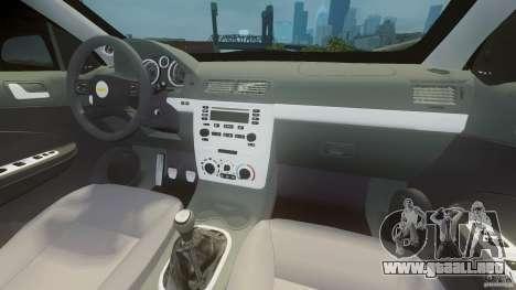 Chevrolet Cobalt SS para GTA 4 visión correcta