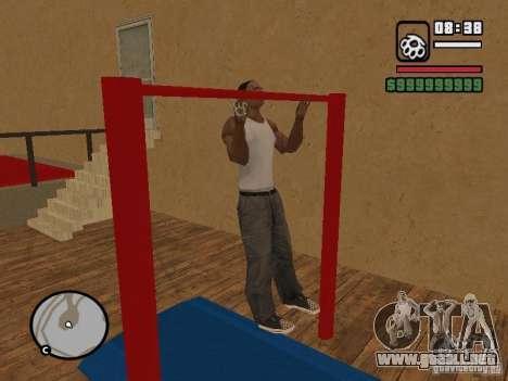 Training and Charging 2 para GTA San Andreas octavo de pantalla