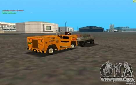 Airport Service Vehicle para GTA San Andreas