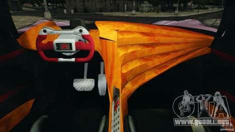 Citroen GT v1.2 para GTA 4 vista hacia atrás