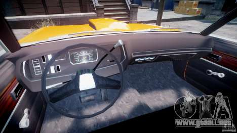 Dodge Dart GT 1975 [Final] para GTA 4 vista hacia atrás