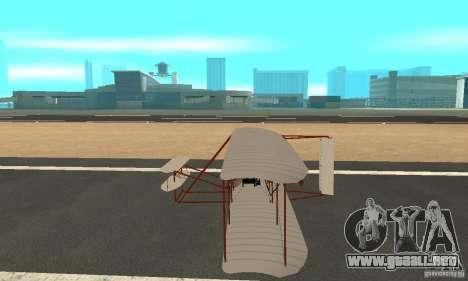 The Wright Flyer para GTA San Andreas left