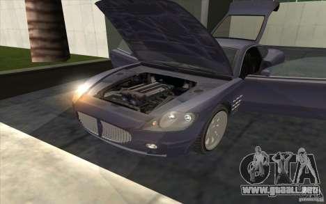 F620 de GTA TBoGT para GTA San Andreas vista posterior izquierda