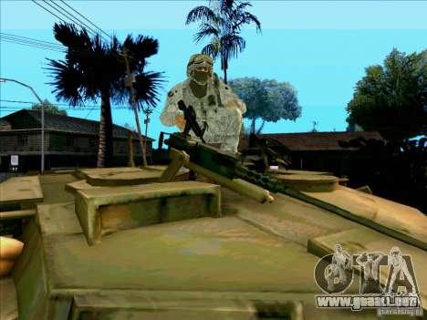 Camuflaje electrónico Morpeh para GTA San Andreas quinta pantalla