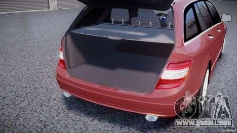Mercedes-Benz C 280 T-Modell/Estate para GTA 4 vista superior