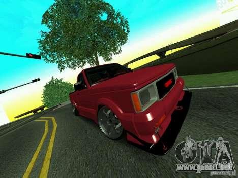 GMC Syclone Drift para visión interna GTA San Andreas