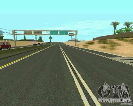 GTA 4 Road Las Venturas para GTA San Andreas octavo de pantalla