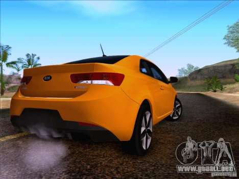 Kia Forte Koup SX para GTA San Andreas left