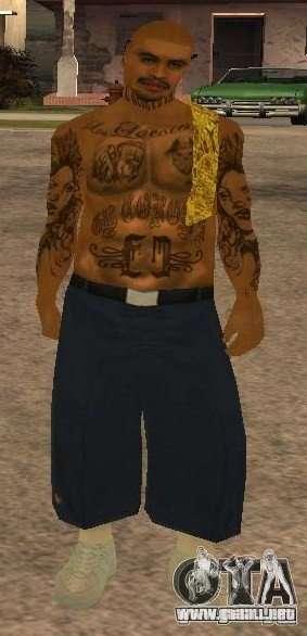 Nuevos aspectos banda Vagos para GTA San Andreas