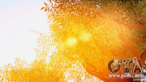 Extreme ENBseries v1.0 para GTA San Andreas octavo de pantalla