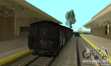 GTA IV Enterable Train para la visión correcta GTA San Andreas