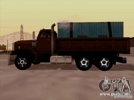 New Flatbed para visión interna GTA San Andreas
