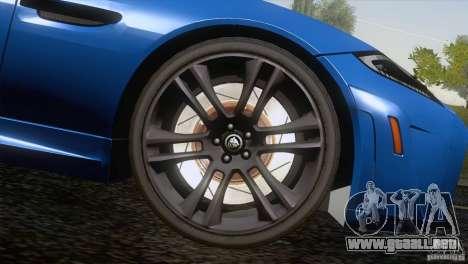 Jaguar XKR-S 2011 V1.0 para las ruedas de GTA San Andreas