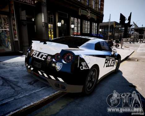 Nissan Spec GT-R Enforcer para GTA 4 left