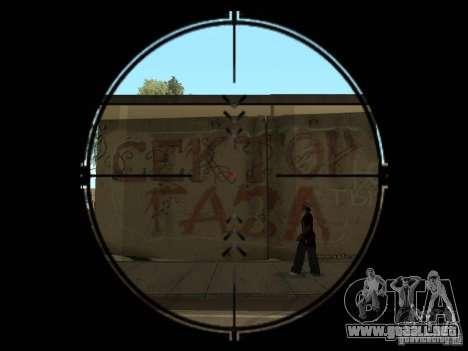 La franja de Gaza para GTA San Andreas segunda pantalla