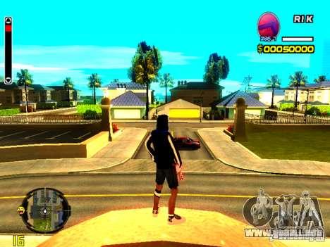 Piel vago v8 para GTA San Andreas segunda pantalla