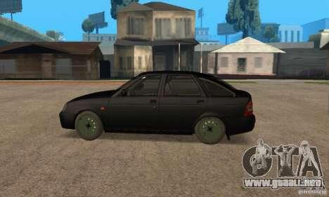 Hatchback LADA priora 2172 para GTA San Andreas left