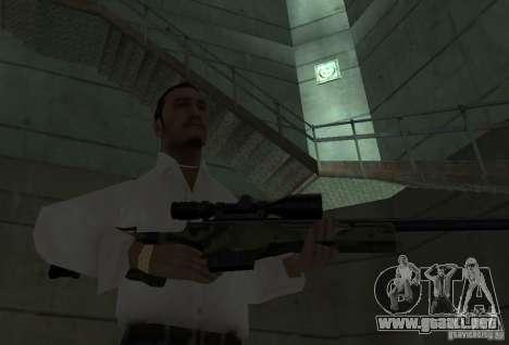 L118A Collection Wooland para GTA San Andreas sucesivamente de pantalla