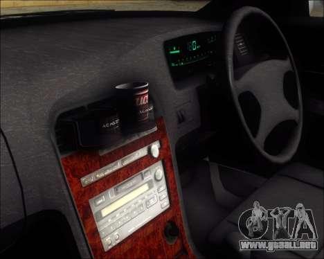 Toyota Mark II GX90 v.1.1 para GTA San Andreas vista hacia atrás