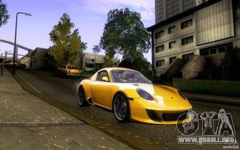 Ruf RK Coupe V1.0 2006 para vista lateral GTA San Andreas