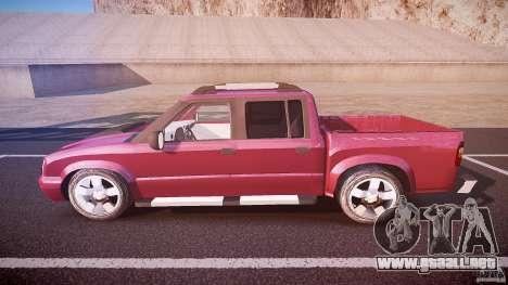 Chevrolet S10 para GTA 4 left