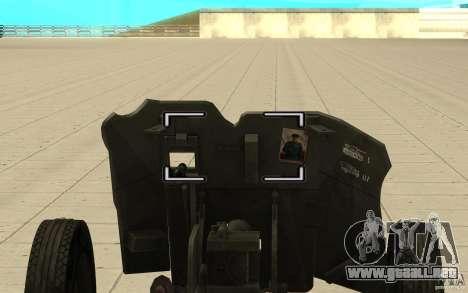 Regimiento de la pistola, 53-45 mm para la visión correcta GTA San Andreas