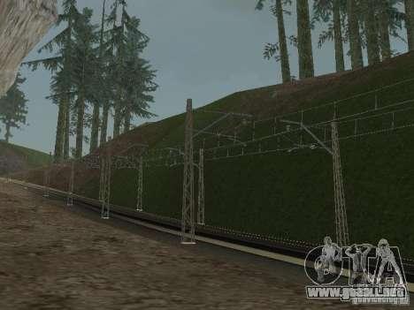 Red de contactos para GTA San Andreas sucesivamente de pantalla