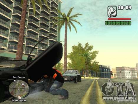 LA camiseta MIZ para GTA San Andreas tercera pantalla