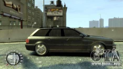 Audi RS2 Avant para GTA 4 Vista posterior izquierda
