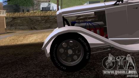 Ford Roadster 1932 para la vista superior GTA San Andreas