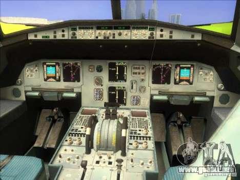 Airbus A-320 S7Airlines para la visión correcta GTA San Andreas